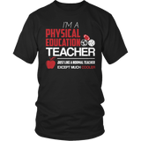 Phys Ed - Cooler - District Unisex Shirt / Black / S - 2