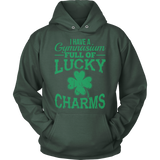 Phys Ed - Lucky Charms - Hoodie / Dark Green / S - 12