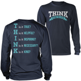 Teacher - THINK - District Long Sleeve / Navy / S - 2