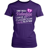 Special Education - Classroom Full - District Made Womens Shirt / Purple / S - 1