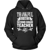 Second Grade - Thankful - Hoodie / Black / S - 12