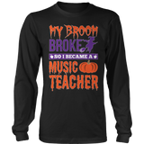 Music - My Broom Broke - District Long Sleeve / Black / S - 7