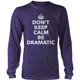 Theater - Dont Keep Calm - District Long Sleeve / Purple / S - 11