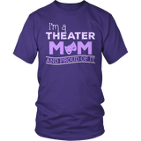 Theater - Proud Mom - District Unisex Shirt / Purple / S - 7