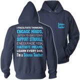 Science - Engage Minds - Hoodie / Navy / S - 13