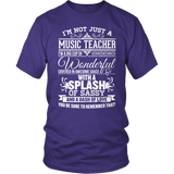 Music - Big Cup - District Unisex Shirt / Purple / S - 7