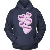 Theater - Candy Hearts - Hoodie / Navy / S - 13