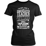 Kindergarten - Big Cup - District Made Womens Shirt / Black / S - 2