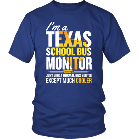 School Bus Monitor - Texas Cooler