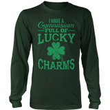 Phys Ed - Lucky Charms - District Long Sleeve / Dark Green / S - 8