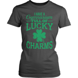 Phys Ed - Lucky Charms - District Made Womens Shirt / Charcoal / S - 7