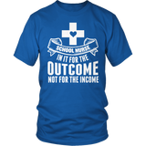 Nurse - Outcome - District Unisex Shirt / Royal Blue / S - 8