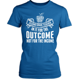 Second Grade - Outcome - District Made Womens Shirt / Royal / S - 4