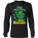 Music - St. Patrick's Musicians - District Long Sleeve / Black / S - 10