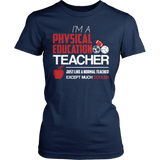Phys Ed - Cooler - District Made Womens Shirt / Navy / S - 6