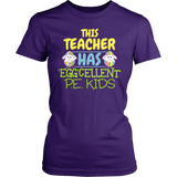 Phys Ed - Eggcellent PE Kids - District Made Womens Shirt / Purple / S - 2