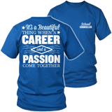 Counselor - Beautiful Thing - District Unisex Shirt / Royal Blue / S - 8