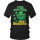 Kindergarten - St. Patrick's Kindergartners - District Unisex Shirt / Black / S - 3