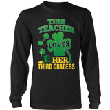 Third Grade - St. Patrick's Third Graders - District Long Sleeve / Black / S - 10