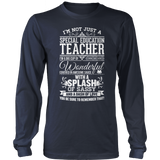 Special Education - Big Cup - District Long Sleeve / Navy / S - 10