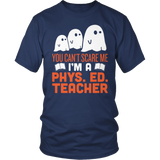 Phys Ed - Ghosts - District Unisex Shirt / Navy / S - 5