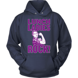 Lunch Lady - Rock - Hoodie / Navy / S - 13
