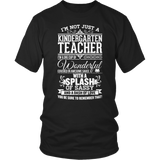 Kindergarten - Big Cup - District Unisex Shirt / Black / S - 6