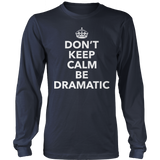Theater - Dont Keep Calm - District Long Sleeve / Navy / S - 10