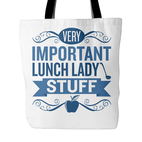 Lunch Lady - Important Stuff - Keep It School - 1