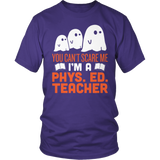 Phys Ed - Ghosts - District Unisex Shirt / Purple / S - 6