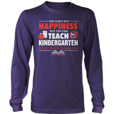 Kindergarten - Happiness - District Long Sleeve / Purple / S - 3