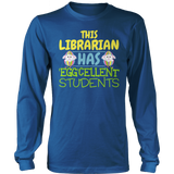 Librarian - Eggcellent - District Long Sleeve / Royal Blue / S - 9
