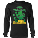 Kindergarten - St. Patrick's Kindergartners - District Long Sleeve / Black / S - 10
