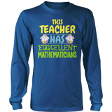 Math - Eggcellent - District Long Sleeve / Royal Blue / S - 9