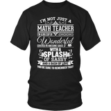 Math - Big Cup - District Unisex Shirt / Black / S - 6