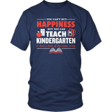 Kindergarten - Happiness - District Unisex Shirt / Navy / S - 8
