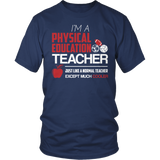Phys Ed - Cooler - District Unisex Shirt / Navy / S - 1