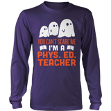 Phys Ed - Ghosts - District Long Sleeve / Purple / S - 9