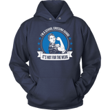Crossing Guard - Not For The Weak - Hoodie / Navy / S - 13