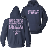 Theater - Grandpa Raised Mine - Hoodie / Navy / S - 8