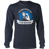 Crossing Guard - Not For The Weak - District Long Sleeve / Navy / S - 10