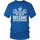 Third Grade - Outcome - District Unisex Shirt / Royal Blue / S - 8