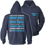 Fifth Grade - Engage Minds - Hoodie / Navy / S - 13
