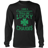 Phys Ed - Lucky Charms - District Long Sleeve / Black / S - 10