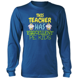 Phys Ed - Eggcellent PE Kids - District Long Sleeve / Royal Blue / S - 9