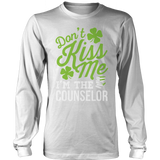 Counselor - Don't Kiss Me - District Long Sleeve / White / S - 9