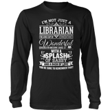 Librarian - Big Cup - District Long Sleeve / Black / S - 9