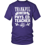 Phys Ed - Thankful - District Unisex Shirt / Purple / S - 10