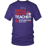 Phys Ed - Cooler - District Unisex Shirt / Purple / S - 3