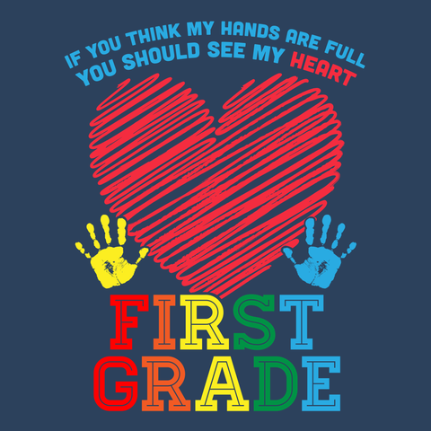 First Grade - Full Heart -  - 5